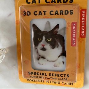🐈‍⬛ ADORABLE 3D CAT Poker PLAYING CARDS ♥️ ♣️ ♦️